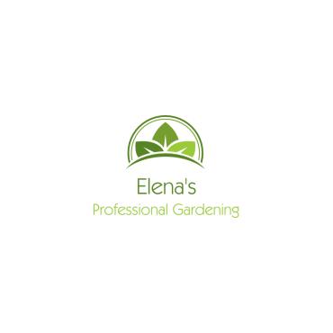 Elena's Professional Gardening Services logo
