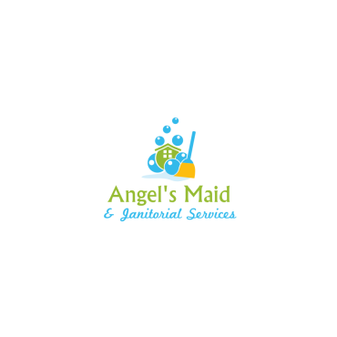 Angel's Maid & Janitorial Services logo
