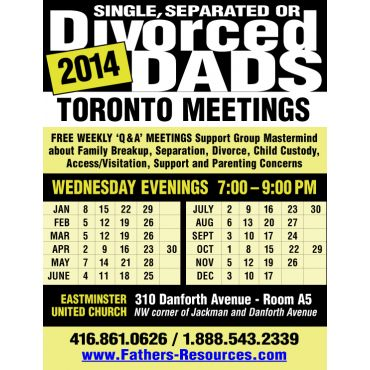 Toronto Support Group Meeting Schedule