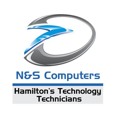 N&S Computers logo