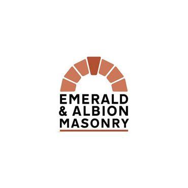 Emerald and Albion Masonry logo