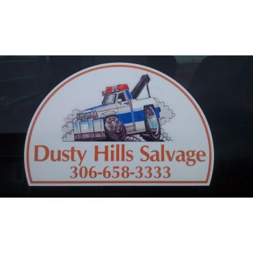 Dusty Hills Salvage logo
