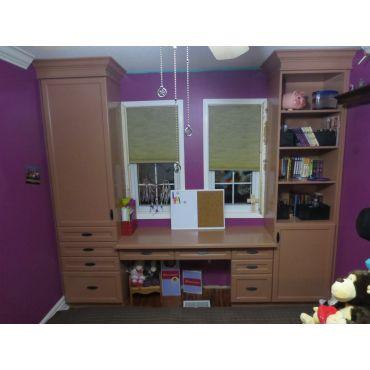 Custom School Desk and Storage