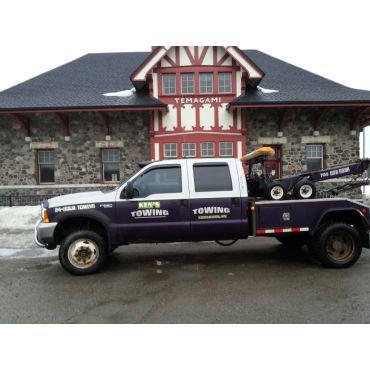 Ken's Towing & Snow Plowing Services PROFILE.logo