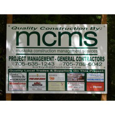 Muskoka Construction Management Services logo