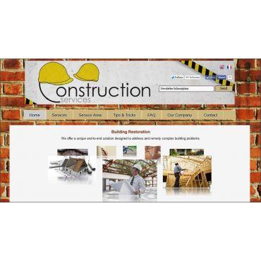 Construction / Renovation Services Site