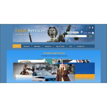 Legal Services Website Template