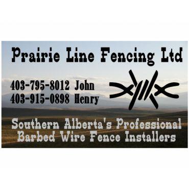 Prairie Line Fencing Ltd logo