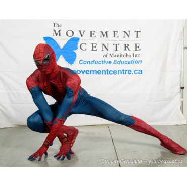 Higher Function's Spider-Man performer