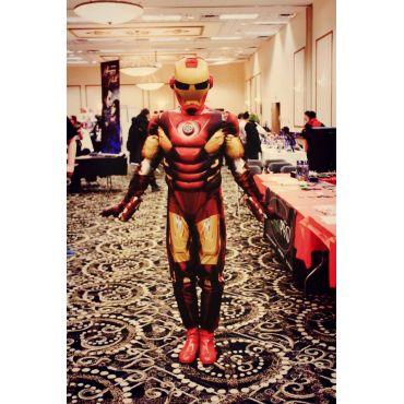 Higher Function's Iron Man Costume