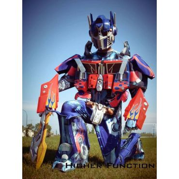 Higher Function's Optimus Prime costume