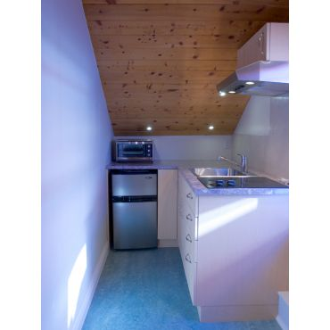 small Gallery kitchen