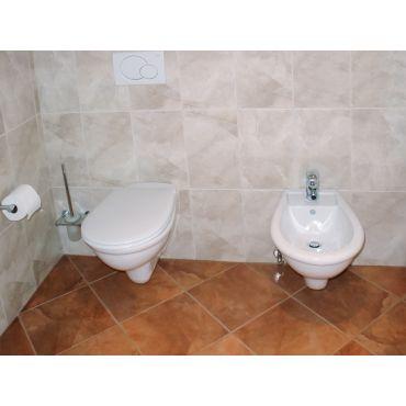 Duravit wall mounted Bidet and Toilet