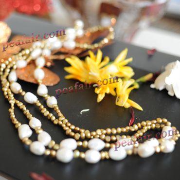 Fancy Pearls Necklace