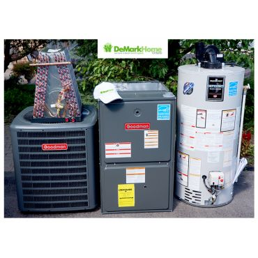 Furnace AC Water Heater ready
