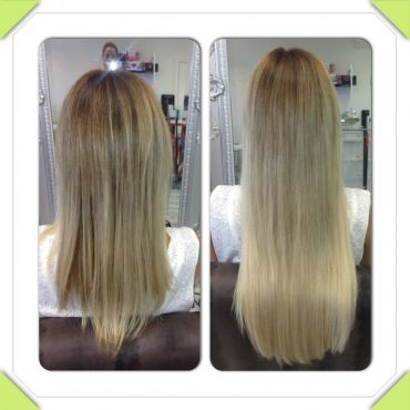 Double-Sided Tape Hair Extension