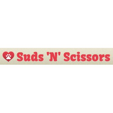 Suds 'N' Scissors Pet Salon logo