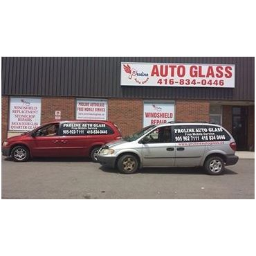 Proline Auto Glass logo
