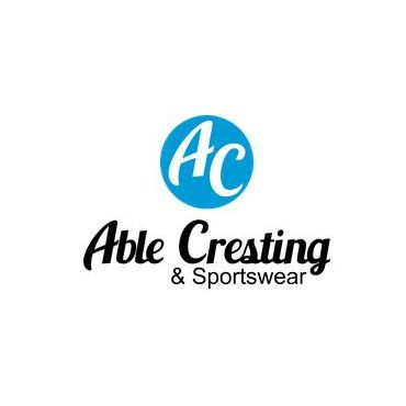 Able Cresting & Embroidery logo