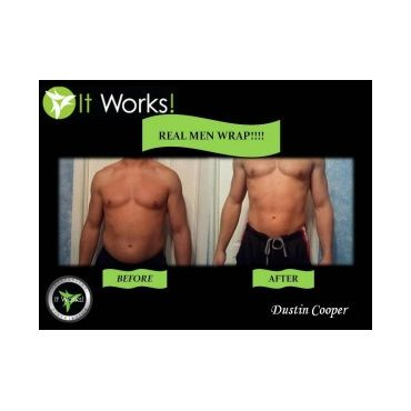 Body wraps are for men too!