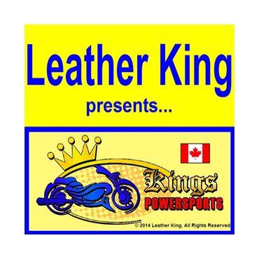 Leather King logo
