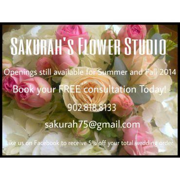 Sakurah's Flower Studio PROFILE.logo