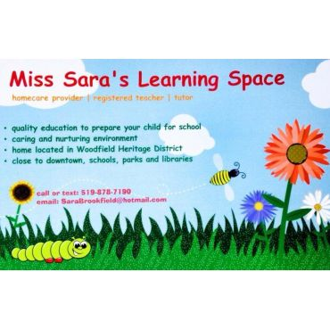 Miss Sara's Learning Space logo