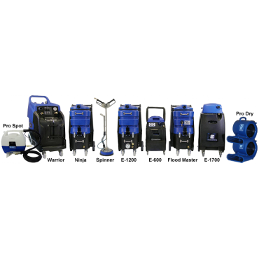New & Used Carpet Cleaning Equipment