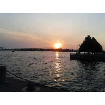Beautiful sunset in Sault Ste Marie