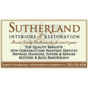 Sutherland Interiors and Restoration PROFILE.logo