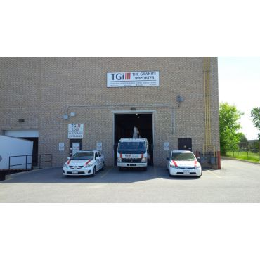Our unloading centre - warehouse