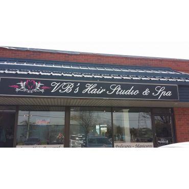 VB's Hair Studio and Spa Inc logo