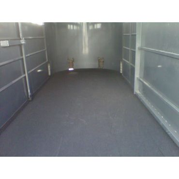 Livestock Trailer Floor Sprayed