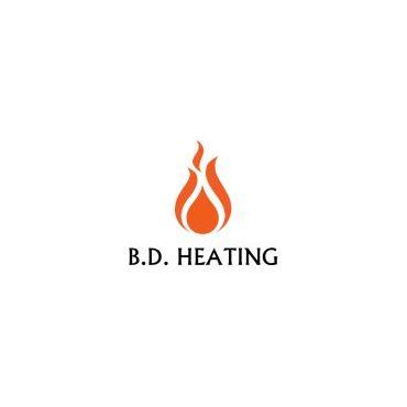 B.D. Heating logo