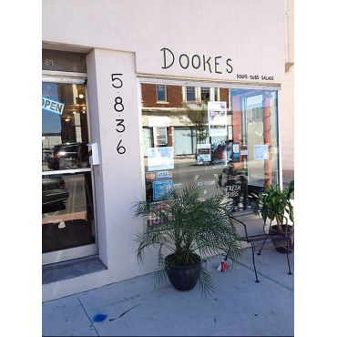 Dookes Take Out logo