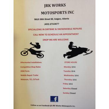 JRK Work MotoSports Corporated logo
