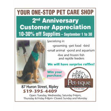 Pet-Tique Whole Pet Nutrition Plus PROFILE.logo