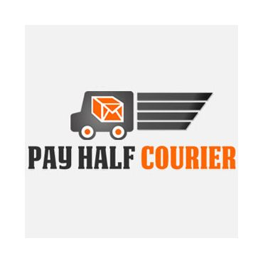 Pay Half Courier PROFILE.logo