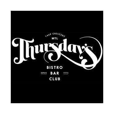 Thursday's Montreal logo