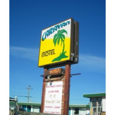 Caravan Motel logo