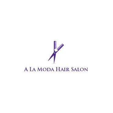A La Moda Hair Salon PROFILE.logo