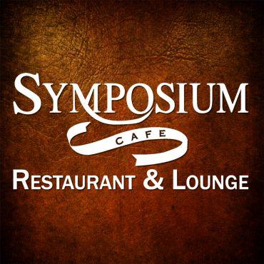 Symposium Cafe Restaurant & Lounge logo