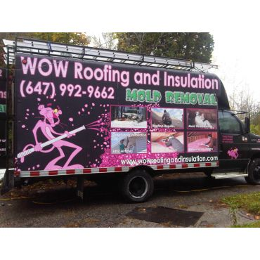 Wow Roofing, Insulation and Mold Removal PROFILE.logo