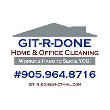 GIT-R-DONE  Home & Office Cleaning PROFILE.logo