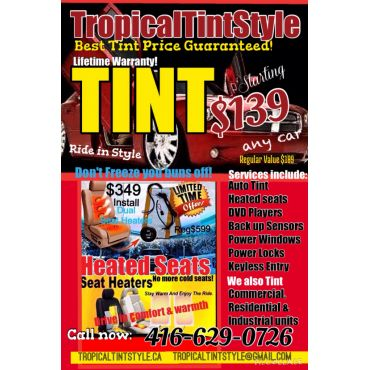 Tropical Tint Style logo