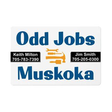 Odd Jobs Muskoka PROFILE.logo
