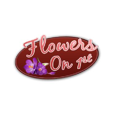 FLOWERS on 1ST logo