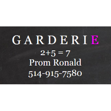 Garderie Montreal Ouest logo