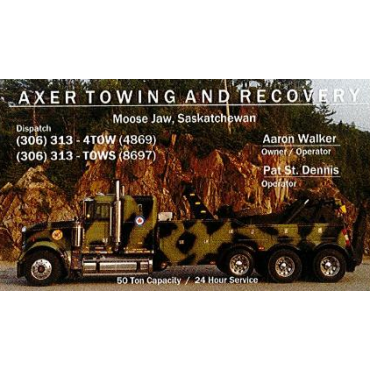 Axer Towing And Recovery PROFILE.logo