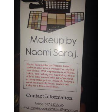 Makeup by Naomi Sara J logo